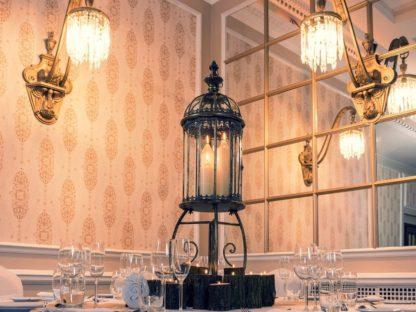 Vintage French Lantern Centrepiece
