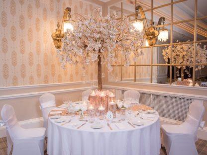 Cherry Blossom Tree Centrepiece, Wedding, Wedding Styling