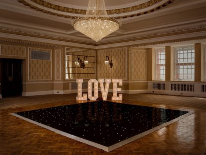 Black LED Dance Floor, Dance Floor, Scene My Event, Scene My Event - Scene My Event