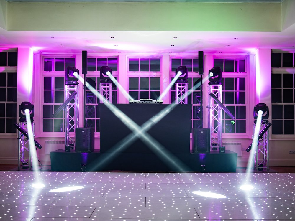 DJ & Super Premium Production Package Lighting Sound Party