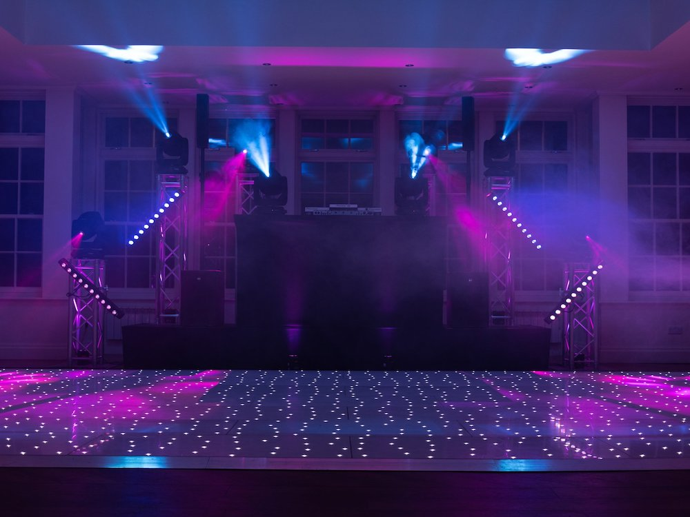 Dj & Ultra Premium Production Package, Lighting Sound Private Event Wedding Entertainment