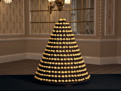 Ferrero Rocher Round Pyramid