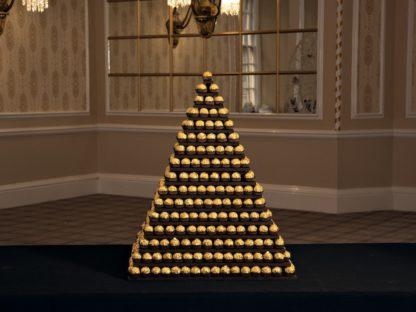 Ferrero Rocher Square Pyramid