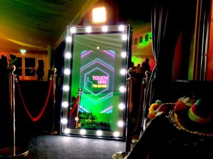 Hollywood Magic Mirror Photo Booth, Scene My Event