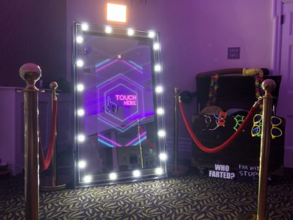 Hollywood Magic Mirror Photo Booth Wedding