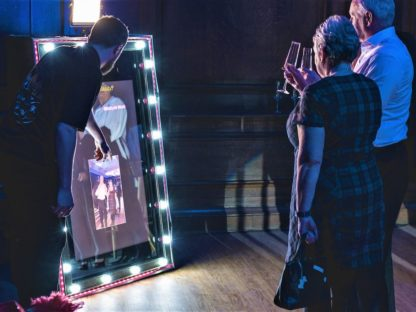 Hollywood Spectre Magic Mirror Photo Booth, Scene My Event