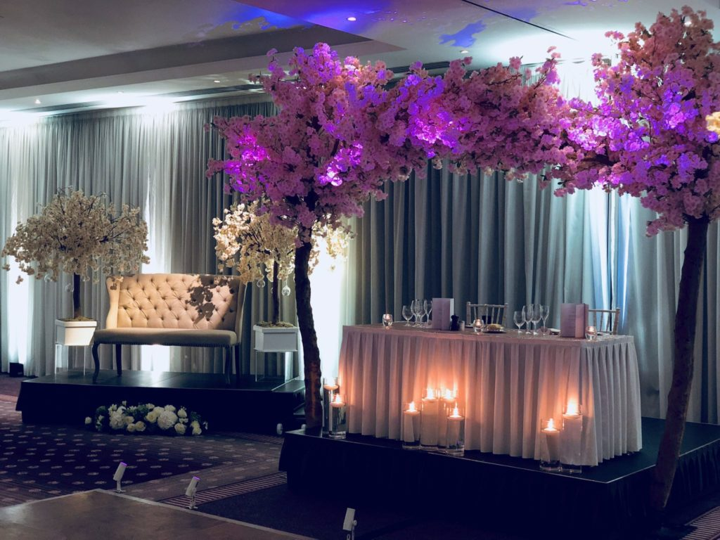 Two 10.5ft Cherry Blossom Arch Trees (Full Arch), Centrepiece, Scene My Event, Scene My Event - Scene My Event