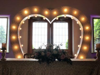 7ft Heart Archway w/ Diamante Fairground Bulbs, Archways, Scene My Event, Scene My Event - Scene My Event