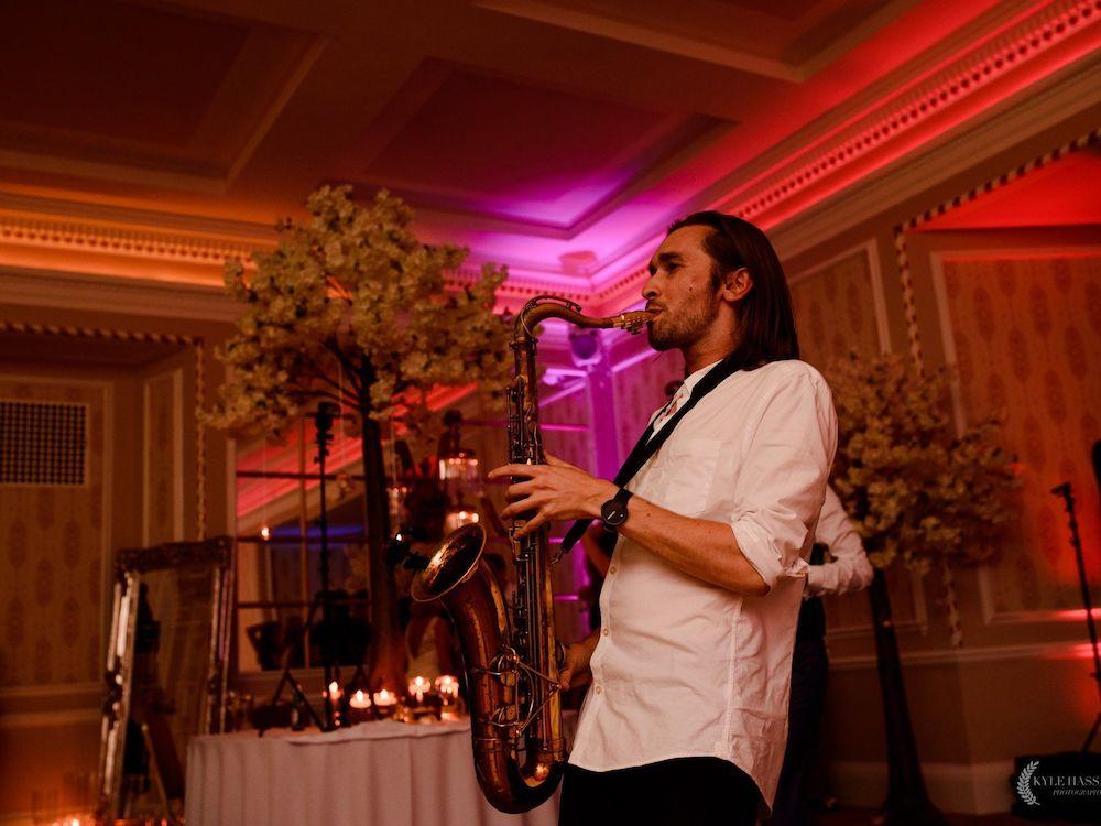 Saxophonist Saxophone Wedding Entertainment Party Sax DJ Scene My Event