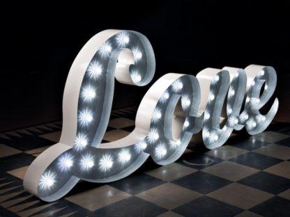 Signature love Letters Script font Swirl Light Up Large Scene My Event