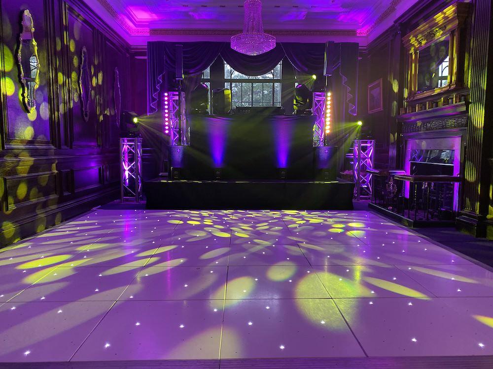 Dj Production Uplighting Venue Lighting Uplight Colour Venue dressing