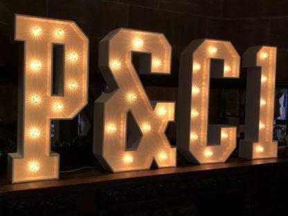 Light up initials