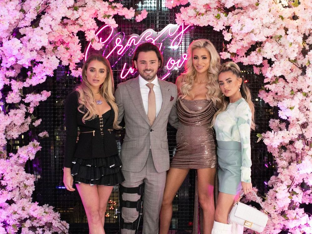 Olivia Attwood Bradley Dack Engagment Party