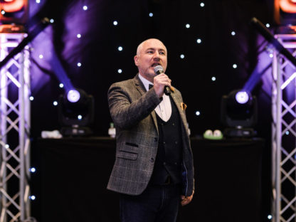 Hosting wedding corporate awards parties event hosting