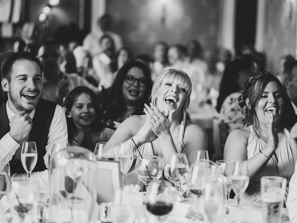wedding hosts hosting master of ceremonies