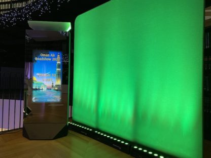Infinity Magic Mirror Brand Activation Corporate Data Capture Booth